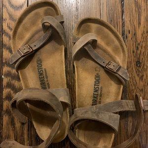 Birkenstock Shoes - Yara Birkenstock (mocha), lightly worn